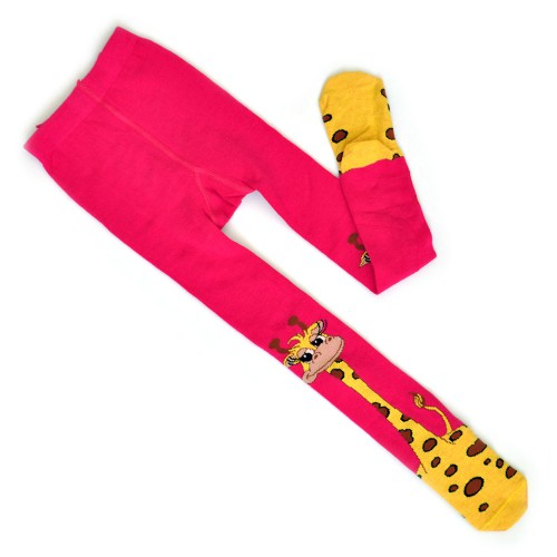 "Колготки детские ""Жираф"" (pink)"