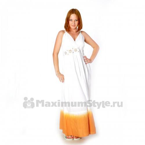 Сарафан длинный, летний (iy-orange)