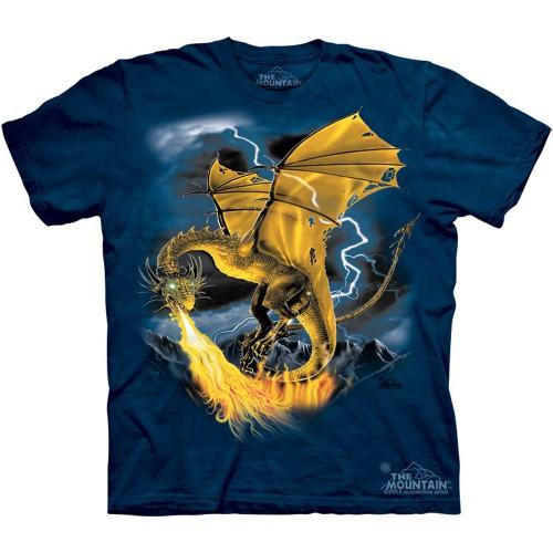 "Футболка The Mountain ""Golden Dragon"" (детская)"