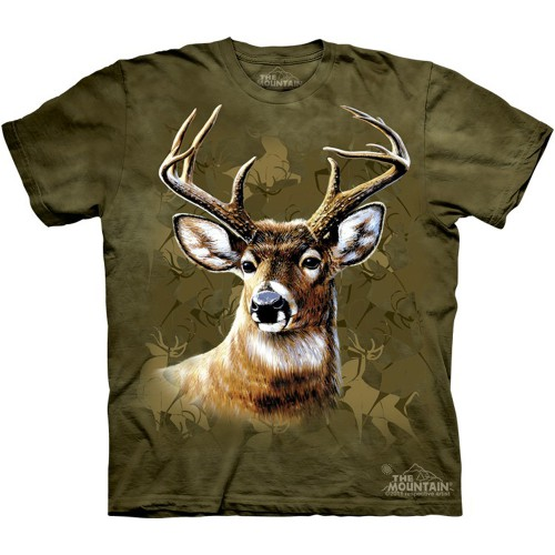 "Футболка The Mountain ""Camo Deer"" (детская)"