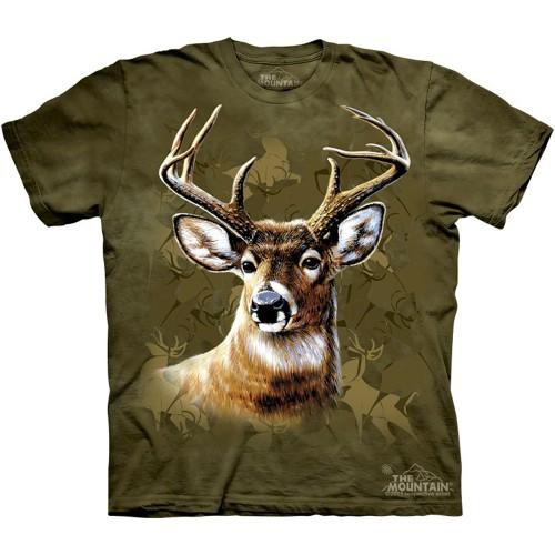 "Футболка The Mountain ""Camo Deer"" (детская)"