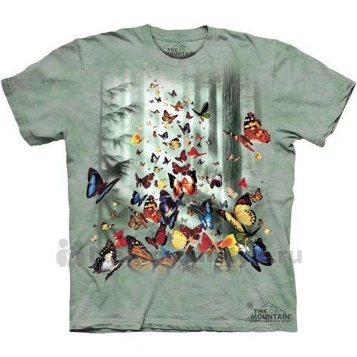 """Футболка The Mountain """"Butterflies"""" (детская)"""