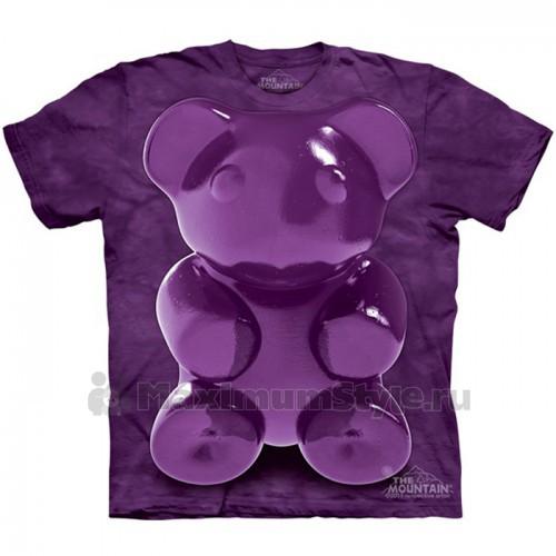"Футболка The Mountain ""Purple Chewy Bear"" (детская)"