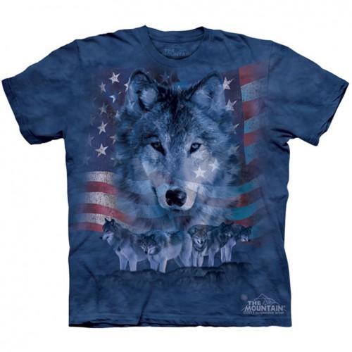 "Футболка The Mountain ""Patriotic Wolfpack"" (детская)"