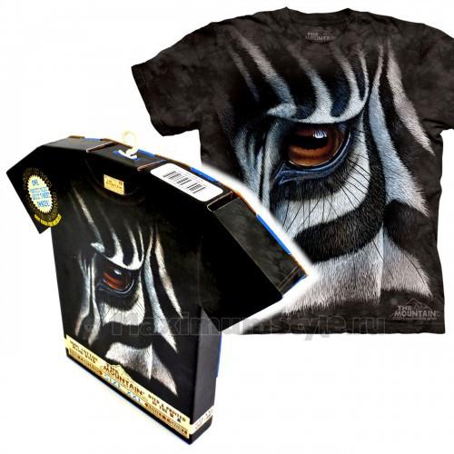 "Футболка в подарочной коробке The Mountain ""Zebra Eye"""