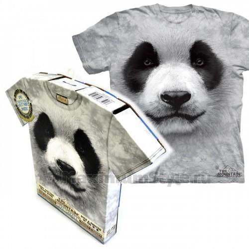 """Футболка в подарочной коробке The Mountain """"Big Face Panda"""""""