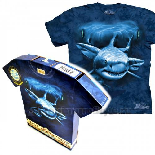 "Футболка в подарочной коробке The Mountain ""Shark Moon Eyes """