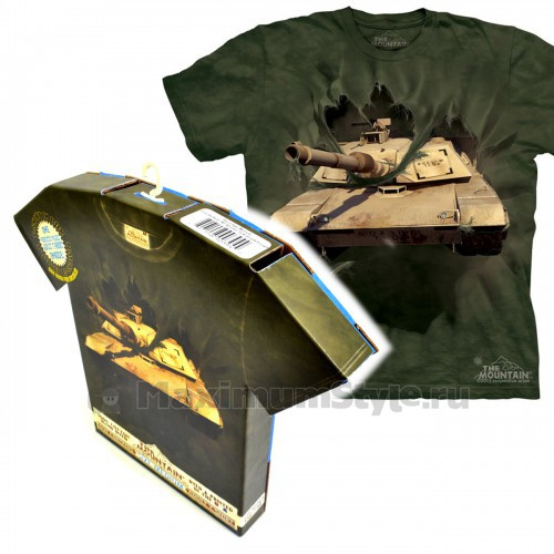 """Футболка в подарочной коробке The Mountain """"Breakthrough Tank"""""""