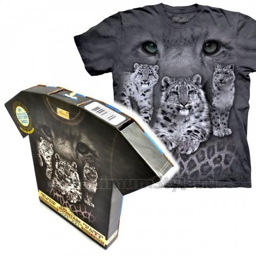 "Футболка в подарочной коробке The Mountain ""Snow Leopards"""