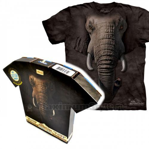 "Футболка в подарочной коробке The Mountain ""Elephant Face"""