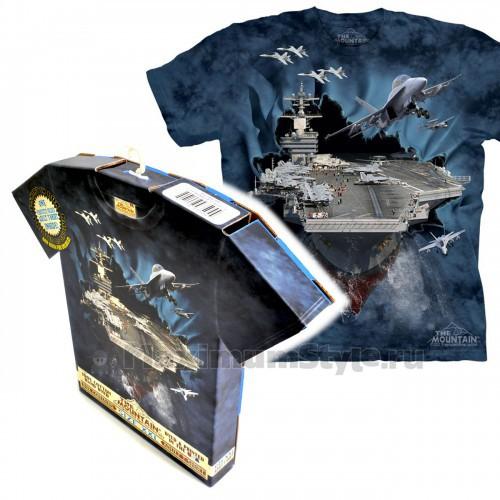 """Футболка в подарочной коробке The Mountain """"Aircraft Carrier"""""""