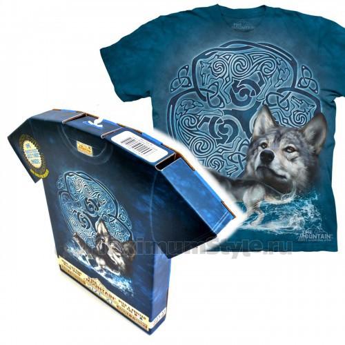 "Футболка в подарочной коробке The Mountain ""Celtic Wolf """