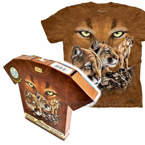 "Футболка в подарочной коробке The Mountain ""Find 10 Cougars"""