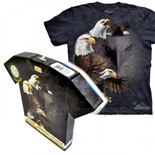 "Футболка в подарочной коробке The Mountain ""Find 10 Eagles"""