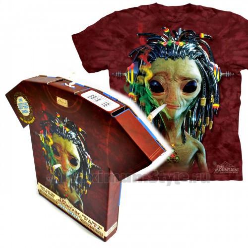 "Футболка в подарочной коробке The Mountain ""Jammin Alien """