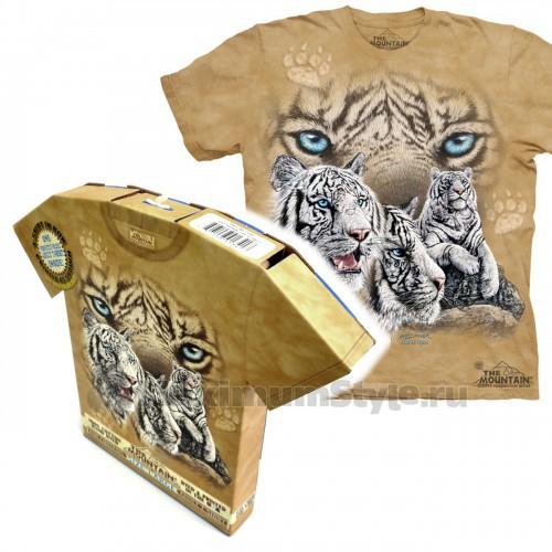 "Футболка в подарочной коробке The Mountain ""Find 12 Tigers"""