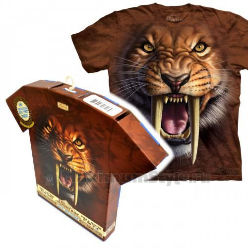 """Футболка в подарочной коробке The Mountain """"Sabertooth Tiger"""""""