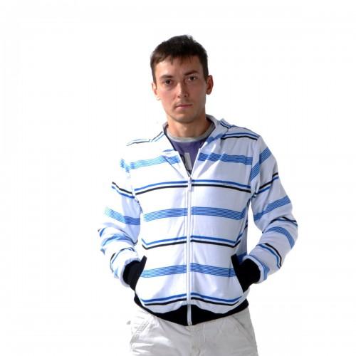 """Толстовка мужская на молнии с капюшоном """"Glacier Wear"""" -08"""