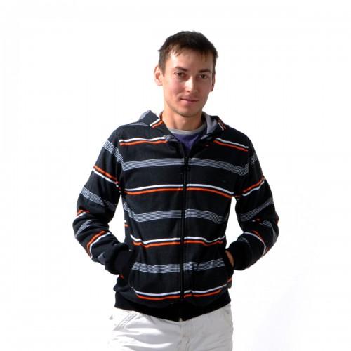 """Толстовка мужская на молнии с капюшоном """"Glacier Wear"""" -10"""