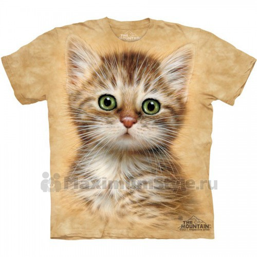 "Футболка ""Brown Striped Kitten"" (США)"