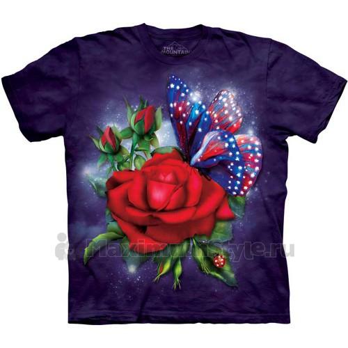 "Футболка ""Star Spangled Butterfly"" (США)"