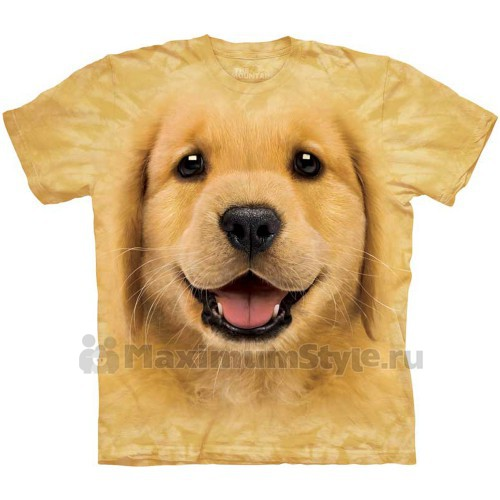 "Футболка ""Golden Retriever Puppy"" (США)"