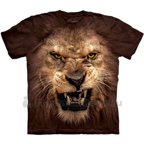 "Футболка The Mountain ""Big Face Roaring Lion"" (десткая)"