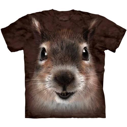 """Футболка """"Squirrel Face"""" (США)"""