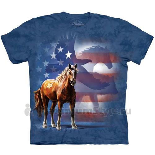 """Футболка """"Wild Star Flag"""" (США)"""