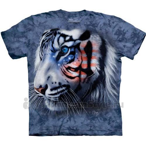 "Футболка ""Stars & Stripes Tiger"" (США)"