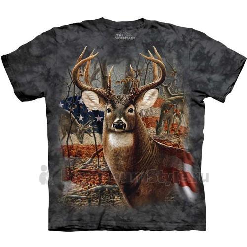 """Футболка """"Patriotic Buck"""" (США)"""