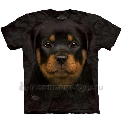 "Футболка The Mountain ""Rottweiler Puppy"" (десткая)"