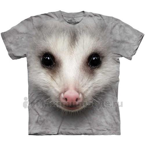 "Футболка ""Big Face Opossum"" (США)"