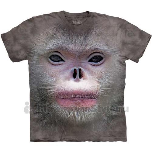 "Футболка The Mountain ""Big Face Snub Nose Monkey"" (десткая)"