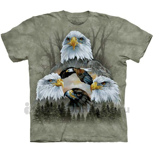 "Футболка ""Five Eagle Collage"" (США)"