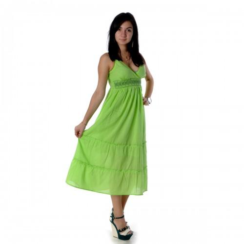 Сарафан летний (green)-11