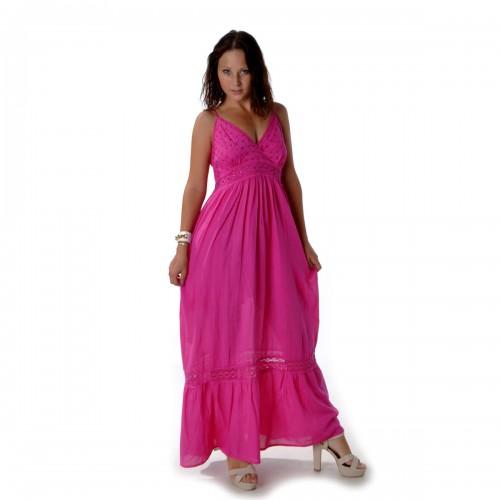 Сарафан длинный (pink) -46