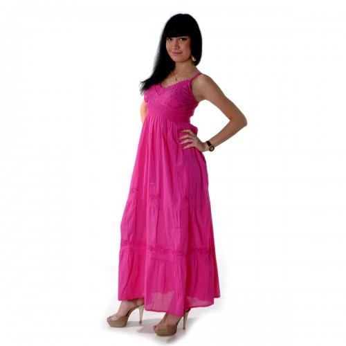 Сарафан длинный (pink) -52