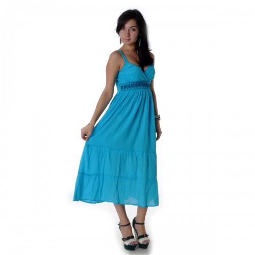 Сарафан летний (turquoise)-54