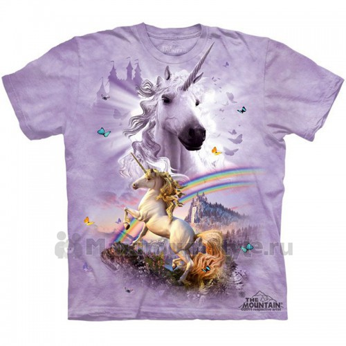 "Футболка ""Double Rainbow Unicorn"" (США)"