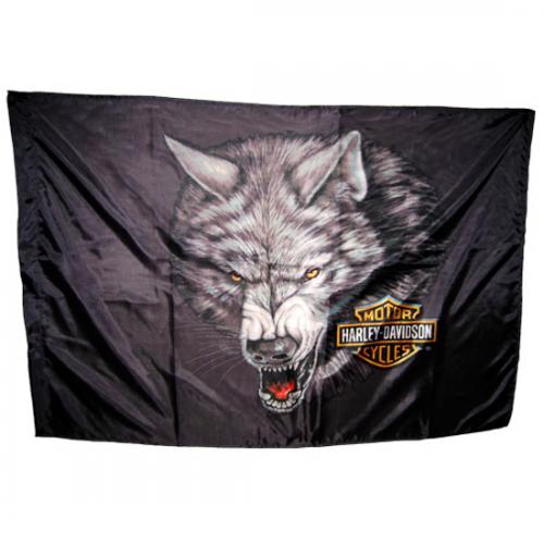 Флаг Harley-Davidson Maesta et Errabunda