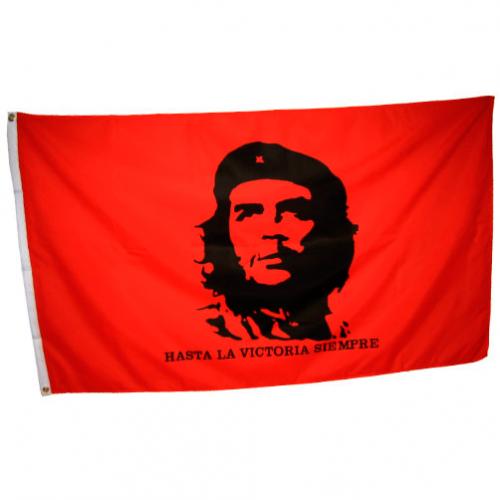Флаг революционных анархистов Че Гевара