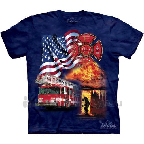 "Футболка ""Fireman Flag"" (США)"