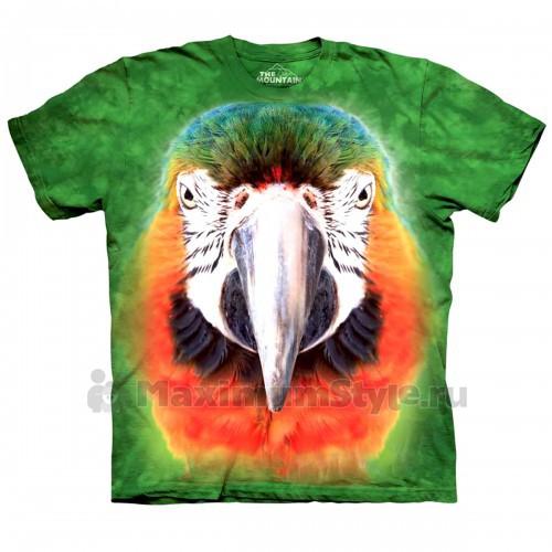 "Футболка ""Big Face Parrot"" (США)"