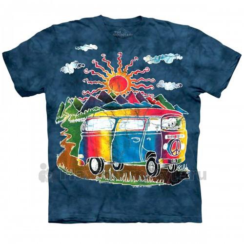 """Футболка """"Batik Tour Bus"""" (США)"""
