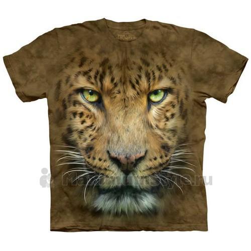 """Футболка """"Big Face Leopard"""" (США)"""