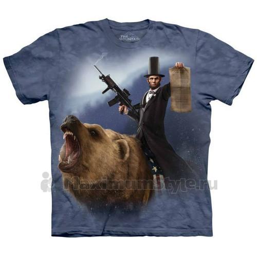 "Футболка ""Lincoln The Emancipator"" (США)"