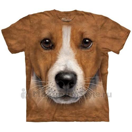 "Футболка The Mountain ""Big Face Jack Russell Terrier"" (десткая)"