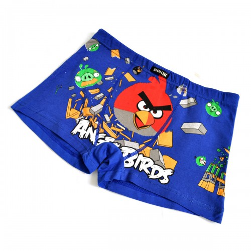 "Трусы мужские ""Angry Birds"" (blue)"