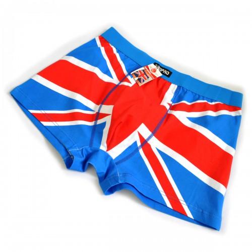 "Трусы мужские ""Британский флаг"" (l-blue)"